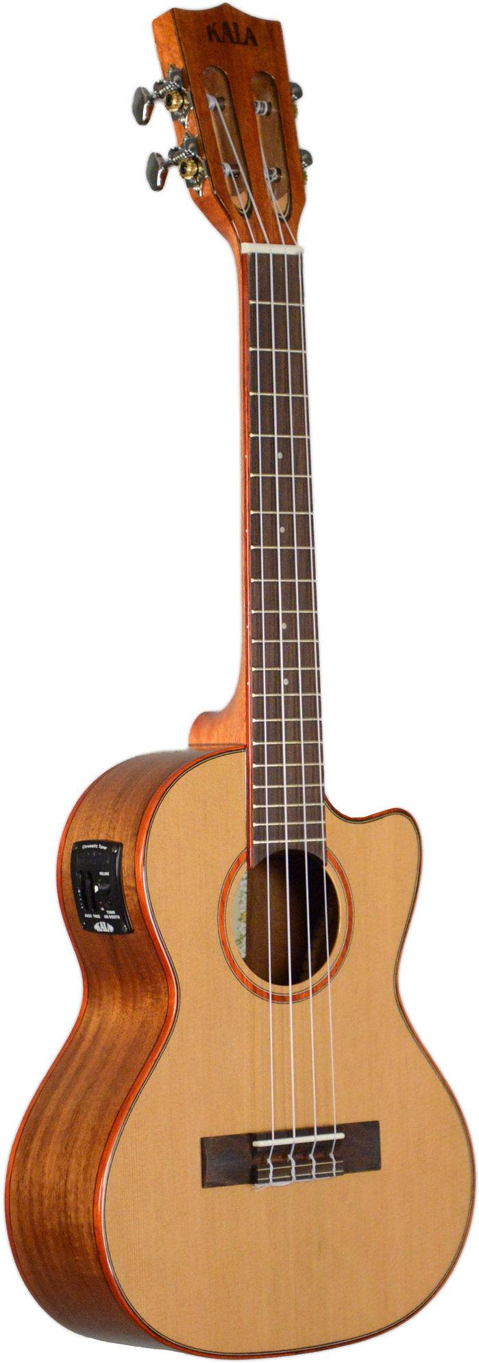 Kala Cedar Top Acoustic Electric Uke
