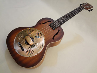 Kala Resonator Uke with case